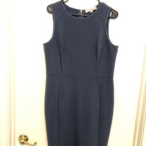 Anne Taylor Loft Fitted Work Dress